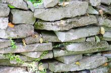 Closeup Shot Of The Stones Wit...
