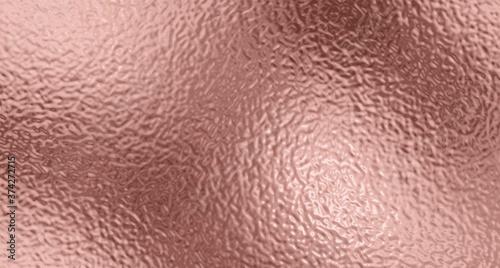 Fotografie, Obraz Gold rose foil texture background