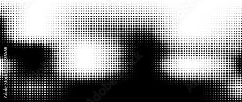 Fototapeta Halftone vector