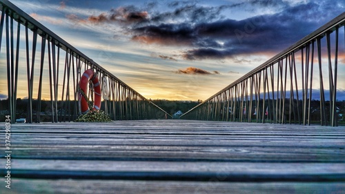 Fotografie, Obraz bridge at night