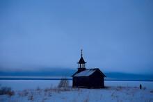Landscape In Russian Kizhi Chu...