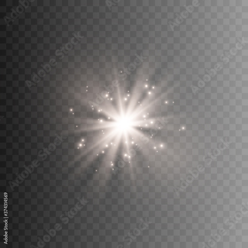 This illustration depicts light, lighting Fototapeta