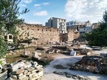Ruine Romaine  à Athens