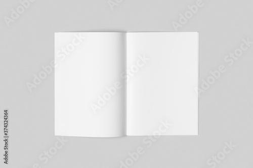 Fototapeta A4 portrait magazine, catalog mockup, saddle stitch.