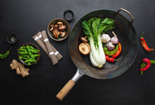 Asian Culinary Ingredients Wit...