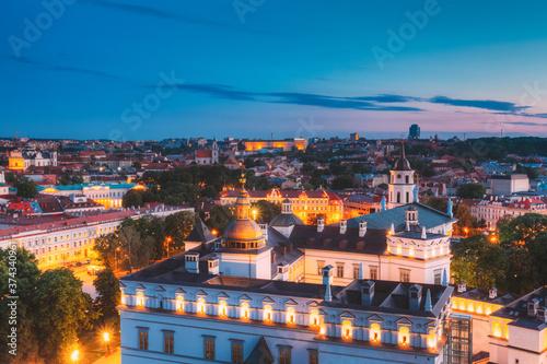 Obraz na plátně Vilnius, Lithuania, Eastern Europe
