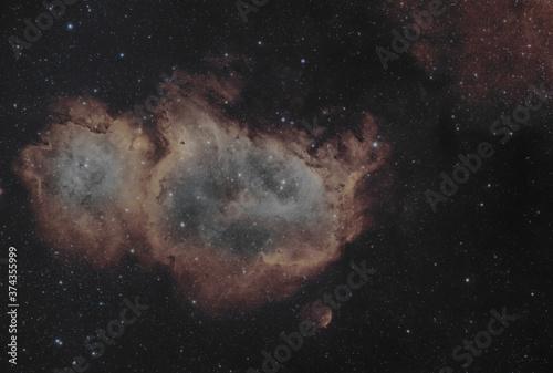 Nebulosa Anima IC 1848 Tableau sur Toile