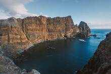 Rocky Volcanic Shore