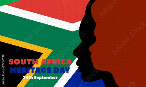 Fototapeta Heritage Day in South Africa