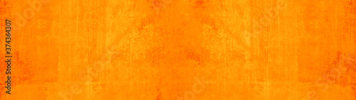 Abstract grunge rusty orange brown rust metal steel paper wall texture background banner panorama