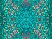 Retro Sand Tribal Printed. Tre...