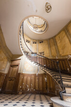 Mysterious History Into This Spiral Staircase
