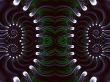 Beautiful Fractal. Computer Ge...