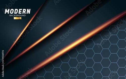 Photo modern premium vector background banner