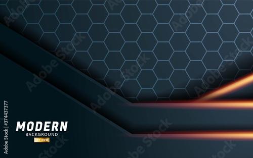 Fotografija modern premium vector background banner
