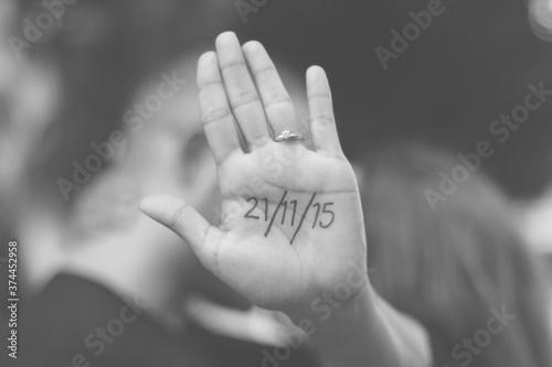 Photo anillo de compromiso