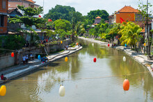 City Center Of Bali During The...