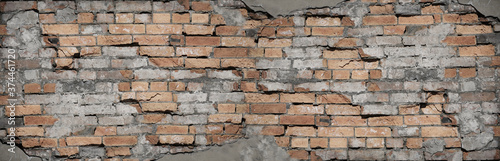Foto Brick grunge background