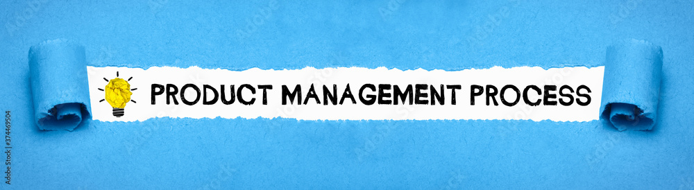 Fototapeta Product Management Process