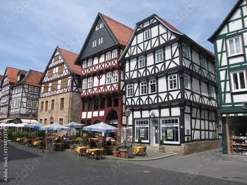 Foto Marktplatz Fritzlar Mittelalterliche Stadt