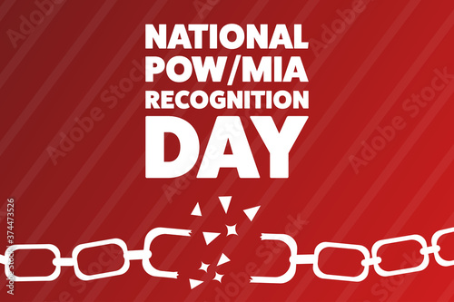 National POW/MIA Recognition Day Wallpaper Mural