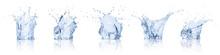 Real Image Water Splash Isolat...