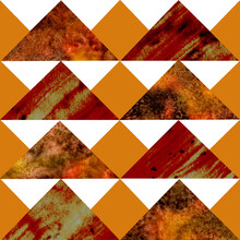 Watercolor Pattern Of Red And ...