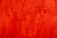 Red Painted Background