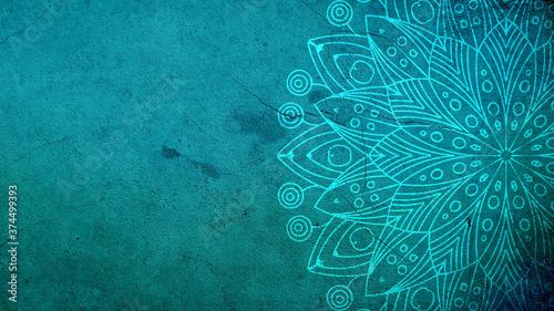 Fotografija turquoise mandala