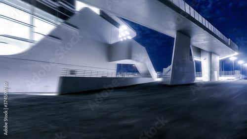Fotografie, Obraz terminal port de salerno