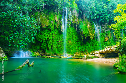 The famous waterfalls of Antalya region, Aksu, Turkey Slika na platnu
