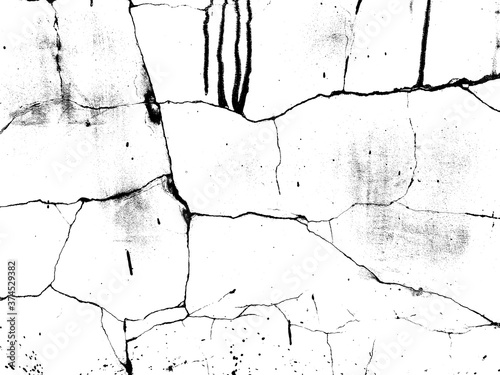 Cuadros en Lienzo Weathered concrete wall
