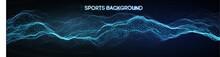 Sport Background Vector Illust...