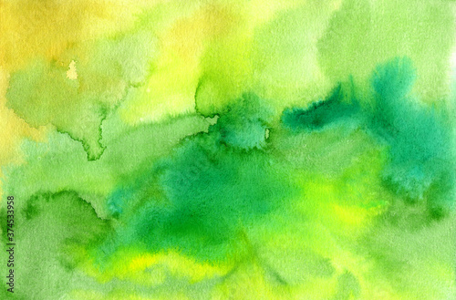 Fotomural Abstract colorful watercolor background for wallpaper design