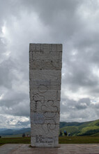 Serbia/Zlatibor, Monument To Yugoslavian Partisans On Zlatibor Mountain.