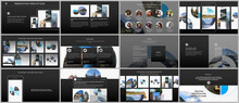 Presentation Design Vector Tem...
