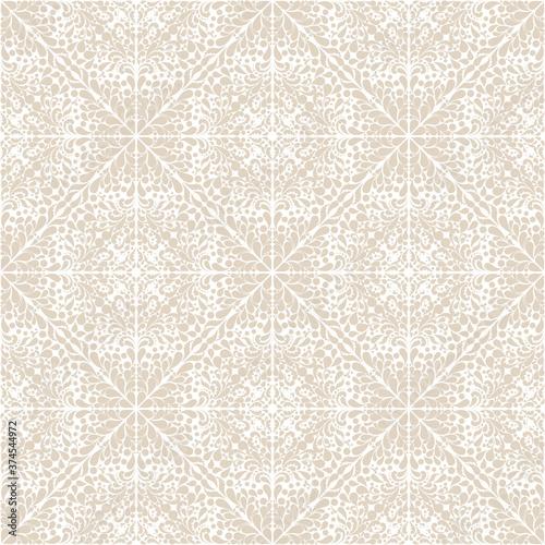 Tapeta beżowa  tapeta-adamaszkowa-kwiatowy-wzor-wektor