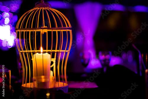 Fotografiet Candles at Event