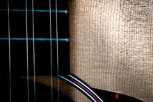 Close Up Of 12 String Guitar N...