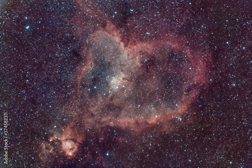 Photo DeepSky Heart Nebula Nebulosa Cuore