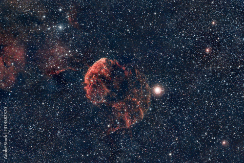 Photo DeepSky Jellyfish Nebula Nebulosa Medusa