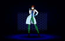 Woman Hero Doctor Nurse Power ...