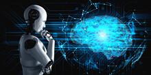 Thinking AI Humanoid Robot Ana...