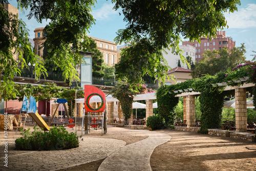 Fotografie, Obraz Parque Anfiteatro. Tarragona. Cataluña.