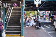 Roosevelt Avenue 7 Train Entrance - NYC