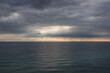 sea in cloudy weather in Cyprus between Limassol and Paphos