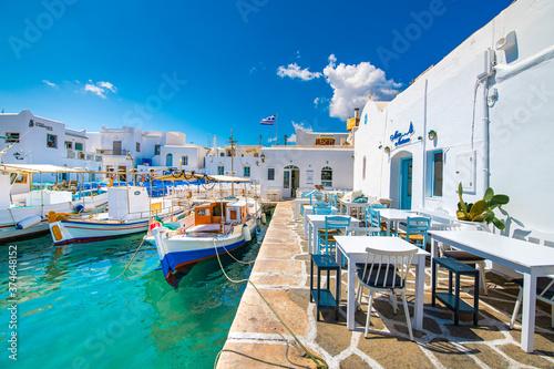 Fotografie, Obraz Naousa in Paros Island, Greece