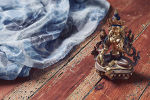 Figura Budismo De Tara Verde S...