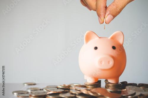 Fotografía money saving concept