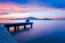 Sunset On The Lake